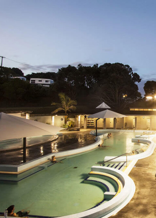 Mount Hot Pools, Mount Maunganui