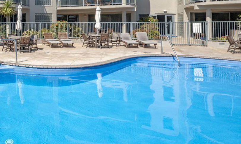 The Reef Apartments | Mount Maunganui | Heated Outdoor Swimming Pool