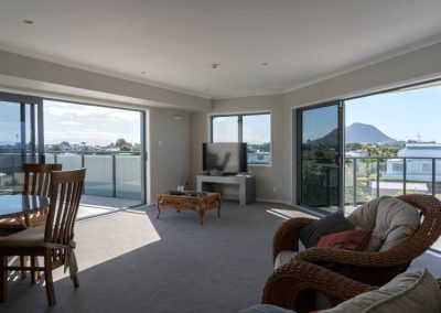 The Reef   2 Bedroom Seaview Apartment   Spacious Lounge Area